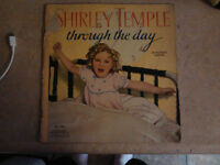 vintage shirley temple book