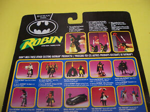BATMAN RETURNS ROBIN JET FOIL CYCLE, ROBIN AND 2 LOOSE FIGURES London Ontario image 7