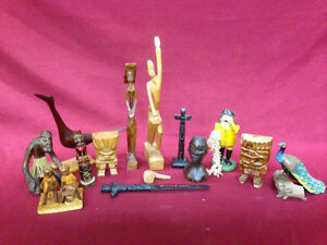 WOODEN FIGURINE Windsor Region Ontario image 1