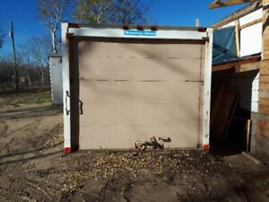 storage shed its off of a cube van doesnt leak