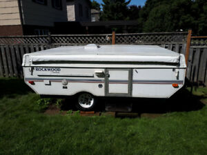 Rockwood freedom tent trailer
