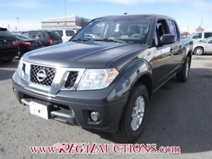 2014 NISSAN FRONTIER SV CREW CAB 4X4 AT 4.0L SV