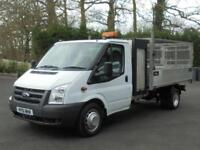 Ford Transit 350 DRW CAGED TIPPER WITH TOOLBOX