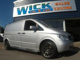 2010 Mercedes-Benz VITO 115 CDI COMPACT SWB VAN *SPORT STYLING* Manual Medium Va
