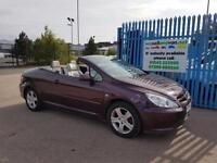 2004 PEUGEOT 307 2.0 convertible Immaculate 12mth Warranty AA Cover