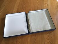 Secol Archival Binder and Negative Filing Sheets for 35mm Film