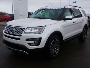 2016 Ford Explorer PLATINUM, THE COMFORT AND PERFORMANCE OF A LU
