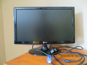 "LG - 20"" Widescreen Flat-Panel LCD Monitor"
