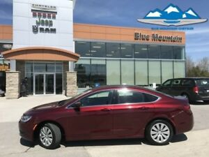 2016 Chrysler 200 LX  ACCIDENT FREE, LOCAL TRADE, WARRANTY!