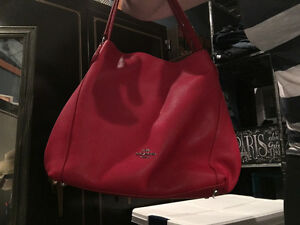 New Coach Eddie true red handbag Regina Regina Area image 1