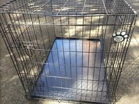 Large and medium sized cozy pet dog cages