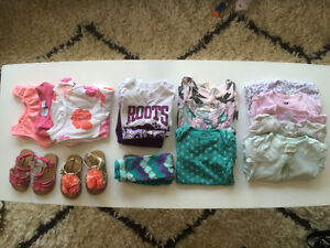 9-12 mo and 12-18 mo Baby Girl Clothing.