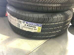1 - NEW MICHELIN X RADIAL TIRE - 215/60R15 - 2156015