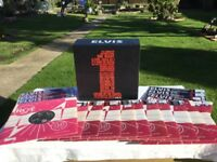 ELVIS A GREAT AND COMPLETE (2005) LIMITED EDITION BOX SET OF 18 UK NUMBER ONE SINGLES.