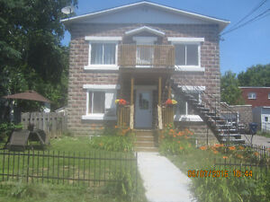 4 1/2 apartment for rent on second floor with one parking