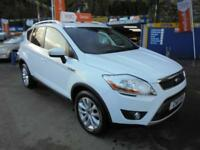 2011 11 FORD KUGA 2.0 TDCI 140 TITANIUM IN WHITE # ONE OWNER #