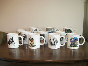 Assortment of Dog Breed Coffee Mugs ~ New!