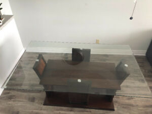 Dining TABLE  glass for Sale