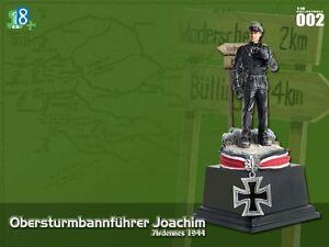 1/18 DRAGON WWII GERMAN JOACHIM PEIPER SOLDIER FIGURE ULTIMATE DIORAMA SET