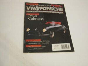 VW & Porsche, March 1991: 356 Pre-A Cabriolet