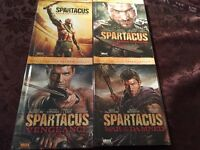 Complete TV Serie of Spartacus DVD