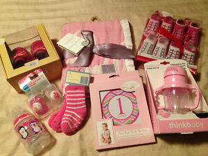Brand new baby girl items