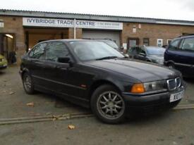 2000 X BMW 3 SERIES 1.9 318TI COMPACT 3D AUTO 138 BHP