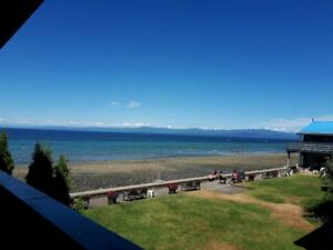 Qualicum Beach Oceanfront for the Fall/Winter!