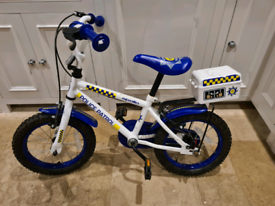 "Apollo childrens police bike 14"" wheels"