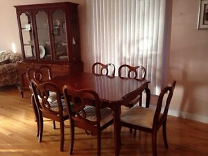 Canadian built Gibbard dining set - LOWER PRICE