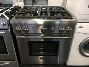 "Thermador 30"" Stainless Steel Gas Stove"