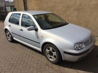 VW GOLF 1.6, MOT MARCH 2017, TRADE IN TO CLEAR