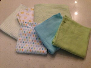 Blankets - Receiving, Muslin Square, Soft Plush, Knitted
