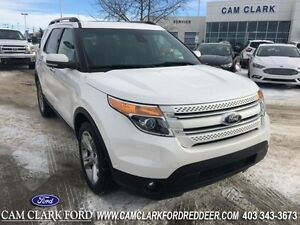 2013 Ford Explorer Limited   Power Moonroof, Navigation, Trailer