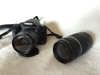 Canon Rebel T1i with 18-55 & 75-300 Ultrasonic Lens