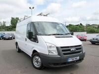 2011 FORD TRANSIT Medium Roof Van TDCi 85ps GBP2,182 Racking Solution fitted