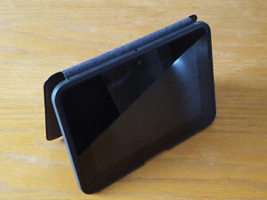 """KINDLE FIRE HD 16 GB with leather standing cover. 7"""" screen"""