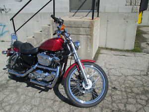 1997 Sportster custom 1200 *lots of chrome London Ontario image 2
