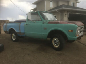 1968 GMC short box fleet side 2wd