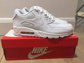 Nike air max 90 white - NEW - £40
