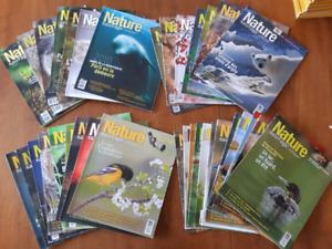 Revue Nature sauvage, no 1 à 35