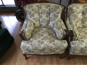 used chair and sofa set