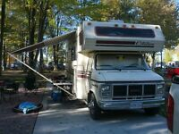 87' chev RV a must SEE, jump in and go!