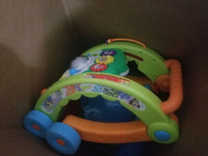 Tv stand, baby Toys, varia