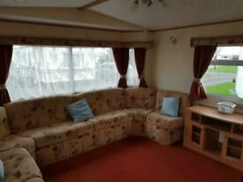 Super 3 bed static - ideal starter van. 12 month season, Allonby, Cumbria