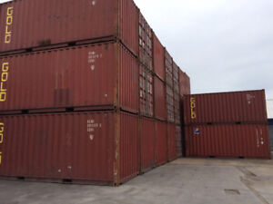 20' and 40' Used Shipping/Storage Containers for SALE - seacans