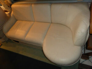 Flexsteel Leather lounge couch