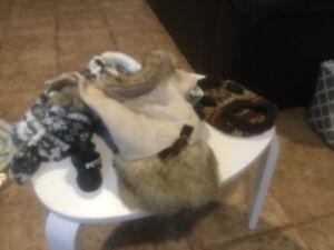 3 manteaux  pour chien