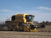 TR 97 NewHolland Combine