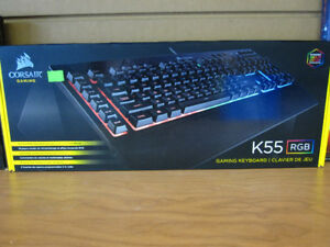 New Corsair Gaming K55 Keyboard RGB
